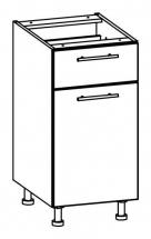 T16/D401S/LP - spodní skříňka bez pracovní desky kuchyň Tiffany