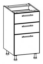 T17/D45S3 - spodní skříňka bez pracovní desky kuchyň Tiffany