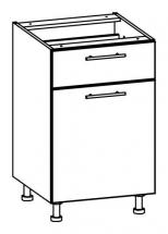 T18/D50S1/LP - spodní skříňka bez pracovní desky kuchyň Tiffany