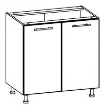 T22/D80 - spodní skříňka bez pracovní desky kuchyň Tiffany