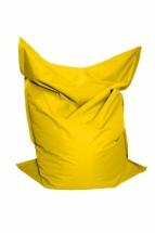 Sedací vak žlutý 100x70 JANA