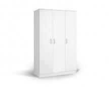 IVA 3K - šatní skříň kombinovaná bílá