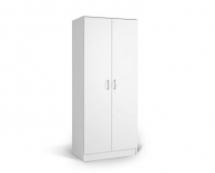 IVA K2 - skříň dvoudvéřová kombinovaná bílá