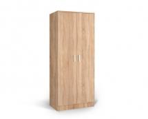 IVA K2 POL - skříň dvoudvéřová kombinovaná dub bardolíno