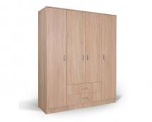 IVA 4K2F - šatní skříň kombinovaná dub bardolíno