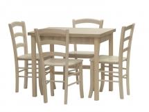 Set:  stůl + 4 židle
