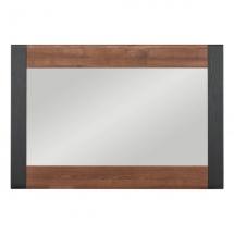 Zrcadlo NAOMI NA/10 ořech/lišta wenge