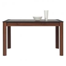 Jídelní stůl rozkládací NAOMI NA/12 ořech/lišta wenge