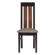 Jídelní židle NAOMI NA/13 grafit/bílý lesk