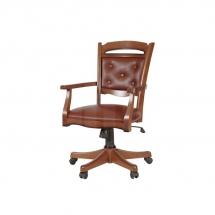 Židle kancelářská dřevěná ořech BAWARIA DFOT II