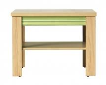 Konferenční stolek CODI CD/1 višeň cornvall/zelená duha