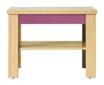 Konferenční stolek CODI CD/1 višeň cornvall/fialová lirio