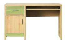 Pracovní stůl CODI CD/11 višeň cornvall/zelená duha