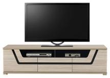 Televizní stolek TES TS/1 jílm mat