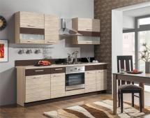 Kuchyň Modena 180-240 rijeka světlá/mořská tráva+zebráno classic