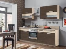 Kuchyň Modena 180-240 rijeka světlá/zebráno classic+mořská tráva