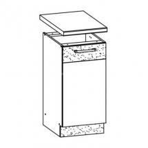 MD27/D40 L/P, TAFLA - spodní skříňka bez pracovní desky kuchyň Modena