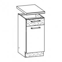 MD13/D40S1 L/P, TAFLA - spodní skříňka bez pracovní desky kuchyň Modena