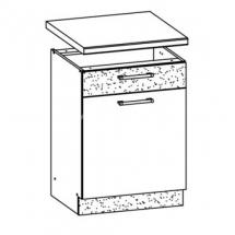 MD16/D60S1 L/P, TAFLA - spodní skříňka bez pracovní desky kuchyň Modena