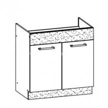 MD19/D80Z, TAFLA - spodní skříňka dřezová bez pracovní desky kuchyň Modena