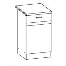 EZ13/D50 L/P - spodní skříňka vč. pracovní desky kuchyň Eliza