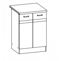 EZ14/D60 - spodní skříňka vč. pracovní desky kuchyň Eliza