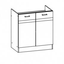 EZ17/D80 - spodní skříňka dřezová bez pracovní desky kuchyň Eliza