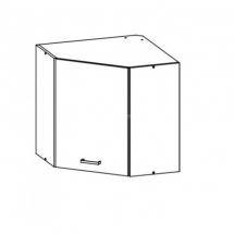 EZ7/G60NW L/P - horní rohová skříňka kuchyň Eliza