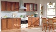 Kuchyň Nika Standard 260  Ramka jabloň tmavá
