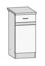 D1D/40/82 L - spodní skříňka kuchyň Junona