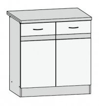 D2D/80/82 - spodní skříňka kuchyň Junona