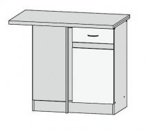 DNW/100/82 L - spodní rohová skříňka kuchyň Junona