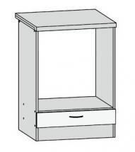 DPK/60/82 - spodní skříňka pro vestavnou troubu kuchyň Junona