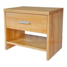 Noční stolek z masivu buk TNS 2
