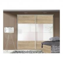 Skříň DEKO šíře 250cm dub sonoma/zrcadlo