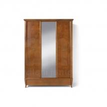 Skříň se zrcadlem třídvéřová třešeň ORLAND