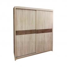 Skříň s posuvnými dveřmi dub sonoma 160 OREN