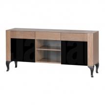 Televizní stolek rustikální ořech ALCAMO 20