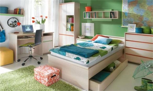 Dětský sektorový nábytek Numlock
